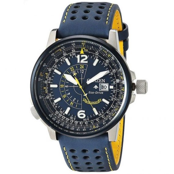 CITIZEN Eco-Drive Promaster Nighthawk BJ7007-02L BLUE ANGELS