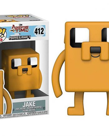 Funko POP! Adventure Time Minecraft JAKE 412 Vinyl Figure