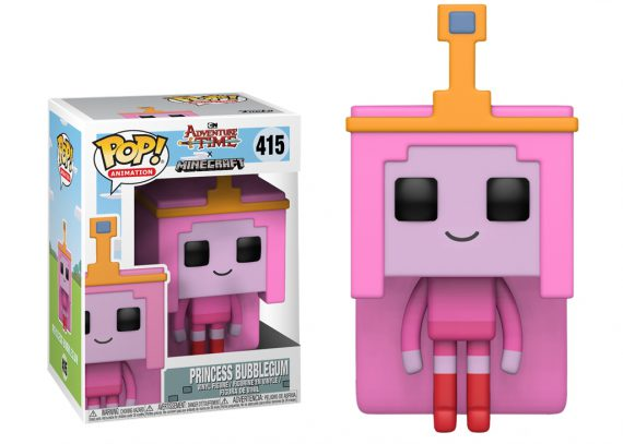Funko POP! Adventure Time Minecraft PRINCESS BUBBLEGUM 415