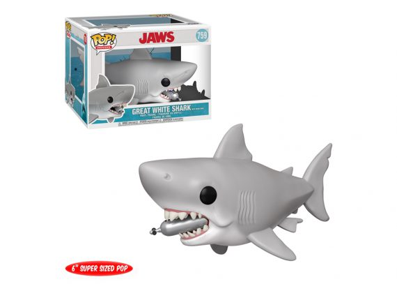 Funko POP! Movies JAWS with DIVING TANK 6-Inch Vinyl Figure