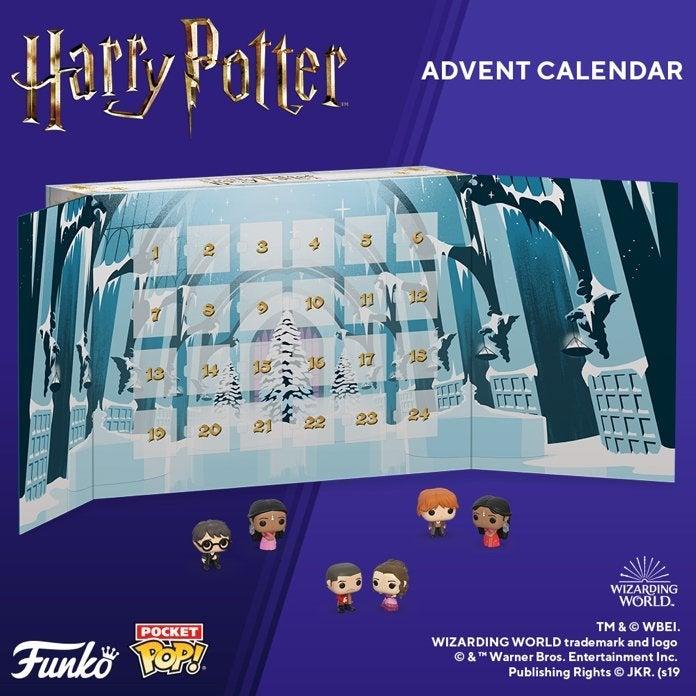 Calendario Dellavvento Harry Potter Funko.Funko Pop Harry Potter Advent Calendar Christmas 2019